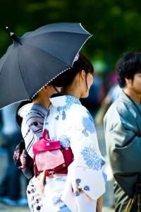日傘 UVカット 効果3
