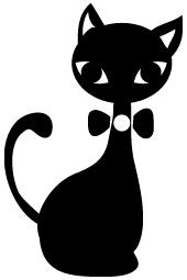 黒猫,不吉,由来,幸運3
