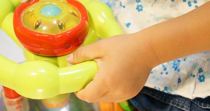 三輪車っていつから乗れるの?こげる月齢より前に購入した娘の場合!2
